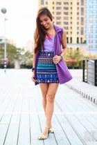purple Tyler vest