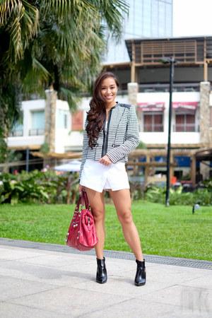 black H&M blazer