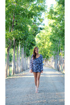 blue cotton on romper