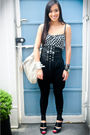 Black-daryl-chan-dress-black-zara-pants-black-trunk-show-shoes-black-glitt