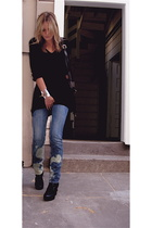 grace sweater - Levis jeans - Chloe shoes