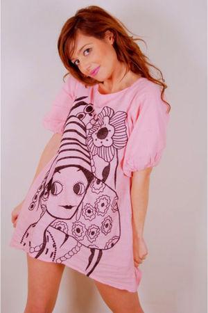 pink cloe blouse