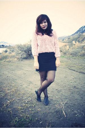 American Apparel sweater - American Apparel skirt - American Apparel tights - th