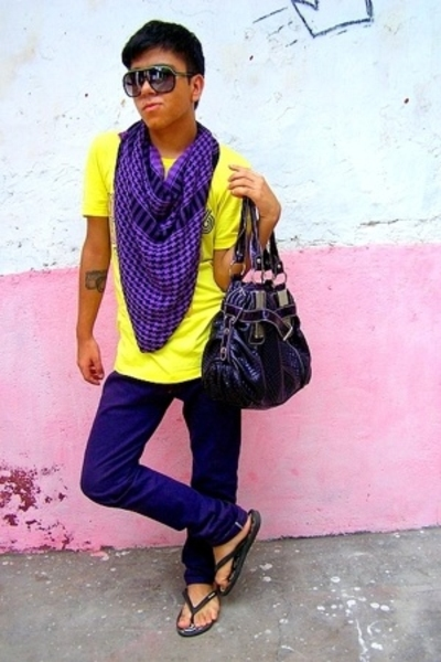 Levis Vintage Collection shirt - Sonata scarf - Zara - Diesel pants