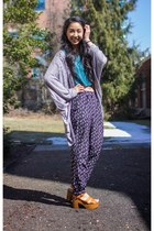 slouchy cotton on cardigan - joggers Charlotte Russe pants