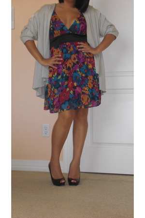 dress - sweater - shoes