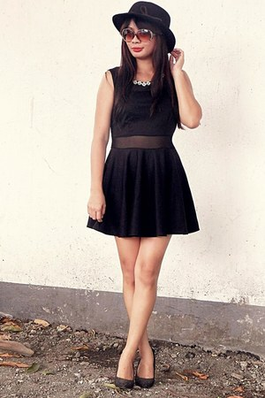 black Choies dress - black OASAP accessories