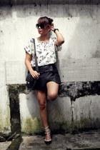 black OASAP shorts