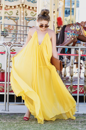 yellow yellow The Juice Market dress