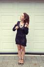 Black-maurie-eve-dress-silver-samantha-wills-necklace-black-betts-heels