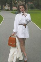 white mens shirt Op-shopped shirt - ivory Op-shopped blazer