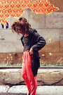 Black-asos-jacket-white-asos-top-hot-pink-forever-21-pants