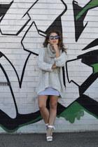 heather gray cotton on jumper