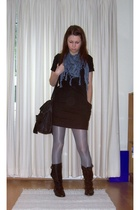 Urban accessories - H&M dress - H&M tights - Office shoes