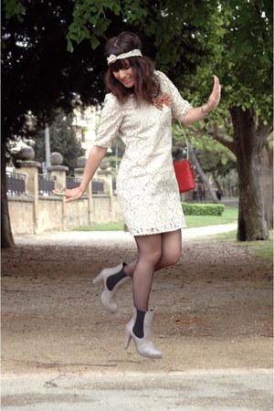 Vero Moda dress - hm bag - les petites parisiennes heels