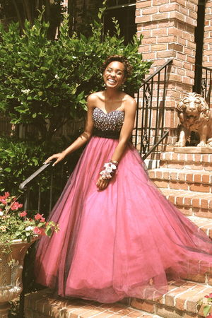 pink Flirt Prom dress