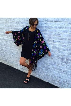 Target dress - Loft sunglasses - Target sandals - La Cle necklace - LF top