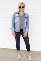 Target t-shirt - Zara jeans - Marshalls jacket - London Fog sunglasses