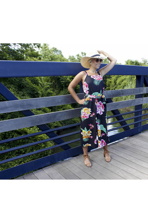 Century 21 hat - H&M sunglasses - Old Navy romper - Payless sandals