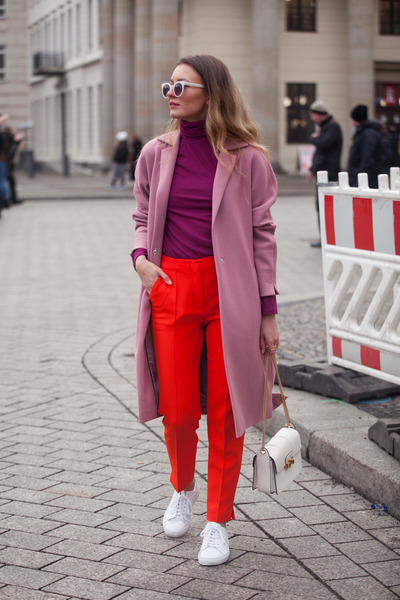 white jiji lanvin bag - pink Patrizia Aryton coat
