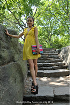 yellow summer short Forever 21 dress