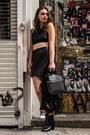 Leather-kuru-necklace-suede-rebecca-minkoff-skirt