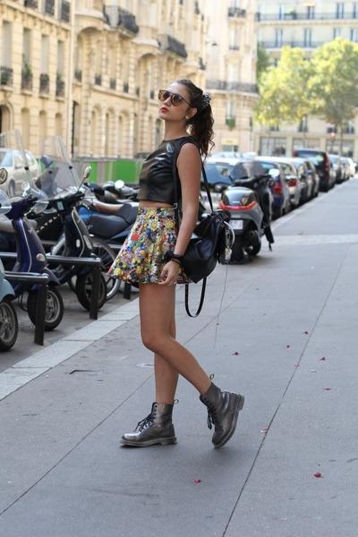Zara Terez skirt - Dannijo bag - Christina Karin top