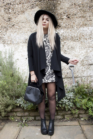 paisley Topshop dress