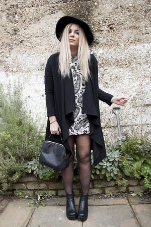 paisley Topshop dress