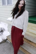 Urban Outfitters skirt - cropped Urban Outfitters sweater