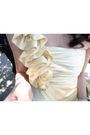 Yellow-jessica-mcclintock-dress-silver-mina-shoes