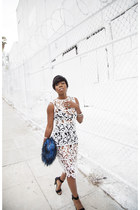 dress Missguided dress - sandals Tibi heels