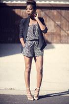 W Concepts blazer - W Concepts jumper - Kurt Geiger heels