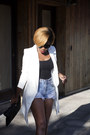 Ivory-missguided-blazer-cutoff-denim-levis-shorts-mules-aldo-heels