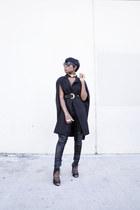 cape Missguided blazer - Aldo boots