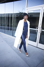 Missguided-coat-jimmy-choo-heels-tamar-collection-suit
