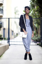 Aldo boots - H&M blazer - vintage bag - American Apparel jumper