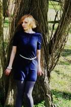 river island dress - h  m belt