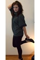 sweater - tights - shoes