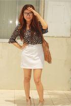 Promod dress - thrifted skirt