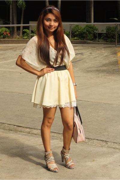 WAGW skirt - virtualmae shoes - thrifted top