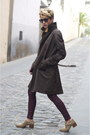 Tan-uterque-shoes-dark-brown-massimo-dutti-coat-crimson-mango-jeans