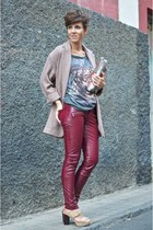 charcoal gray tiger t-shirt Lefties t-shirt - beige Primark coat