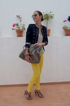 Zara blazer - Massimo Dutti bag - jeggins Local shop pants