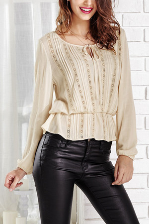 beige Lookbook Store top