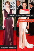 Learning From The Lionized: Taking Red Carpet Trends to the Streets