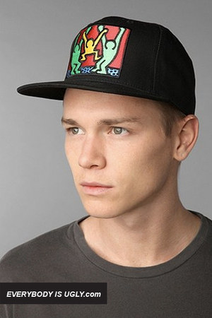 Black-obey-hat