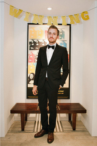 stafford ashton JCPenney shoes - H&M shirt - H&M suit
