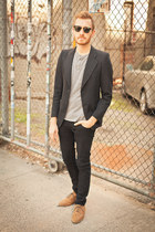 henley forever 21 men shirt - Urban Outfitters shoes - lip service jeans