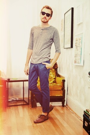 Bed Stu shoes - Forever 21 shirt - 511 Levis pants